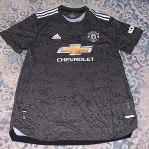 New Adidas Manchester United Chevrolet Jersey